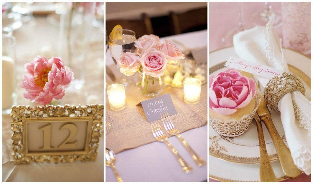 rose gold weddings